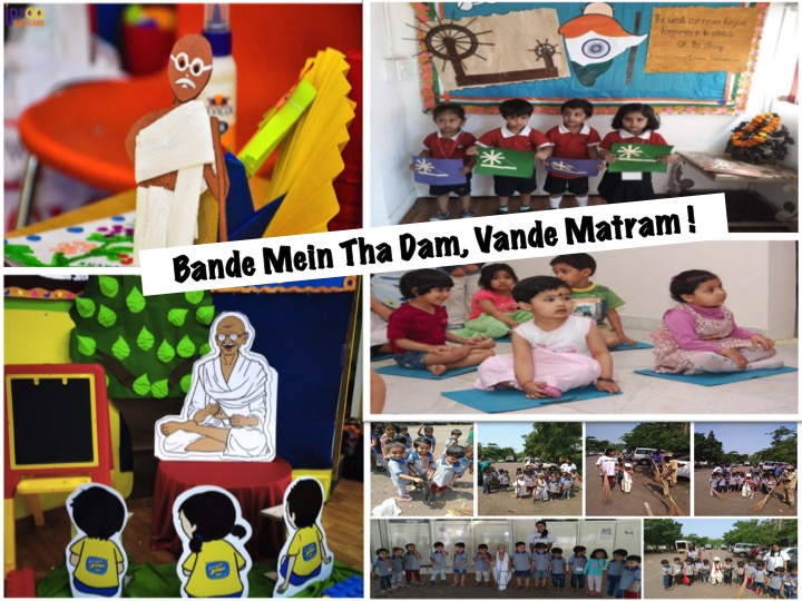 Small Kids teach us the best lessons this Gandhi Jayanti
