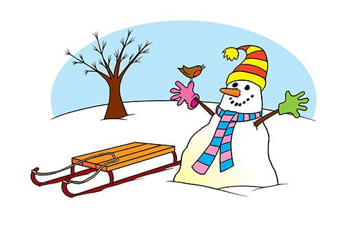 learning snowman - popular-home-learning-calendar