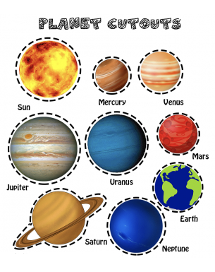 Homeschooling calendar - All about planets