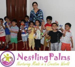 NESTLING PALMS