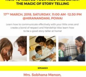 Sandbox Daycare and Early Learning Centre Hiranandani Powai Sandbox Parents' Workshop - Episode 9