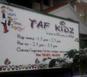 Taf Kidz Preschool