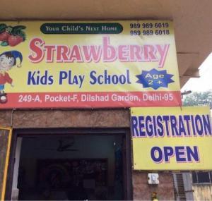 THE STRAWBERRY KIDS PLAY WAY SCHOOL